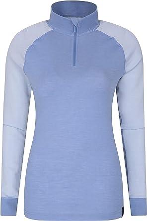 Mountain Warehouse Talus Womens Baselayer Top Lightweight Tee Shirt