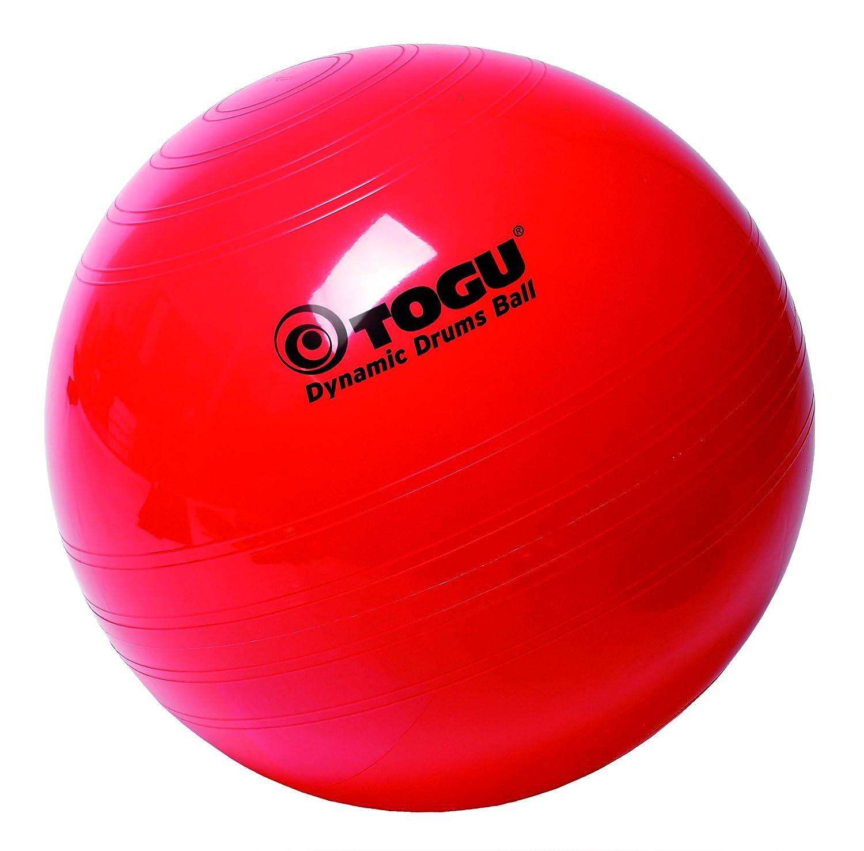 Togu Gymnastikball Dynamic Drums, rot, 75 cm 426750