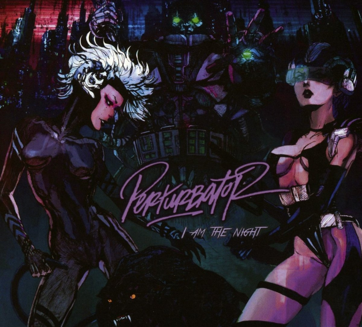 CD : Perturbator - I Am the Night (CD)