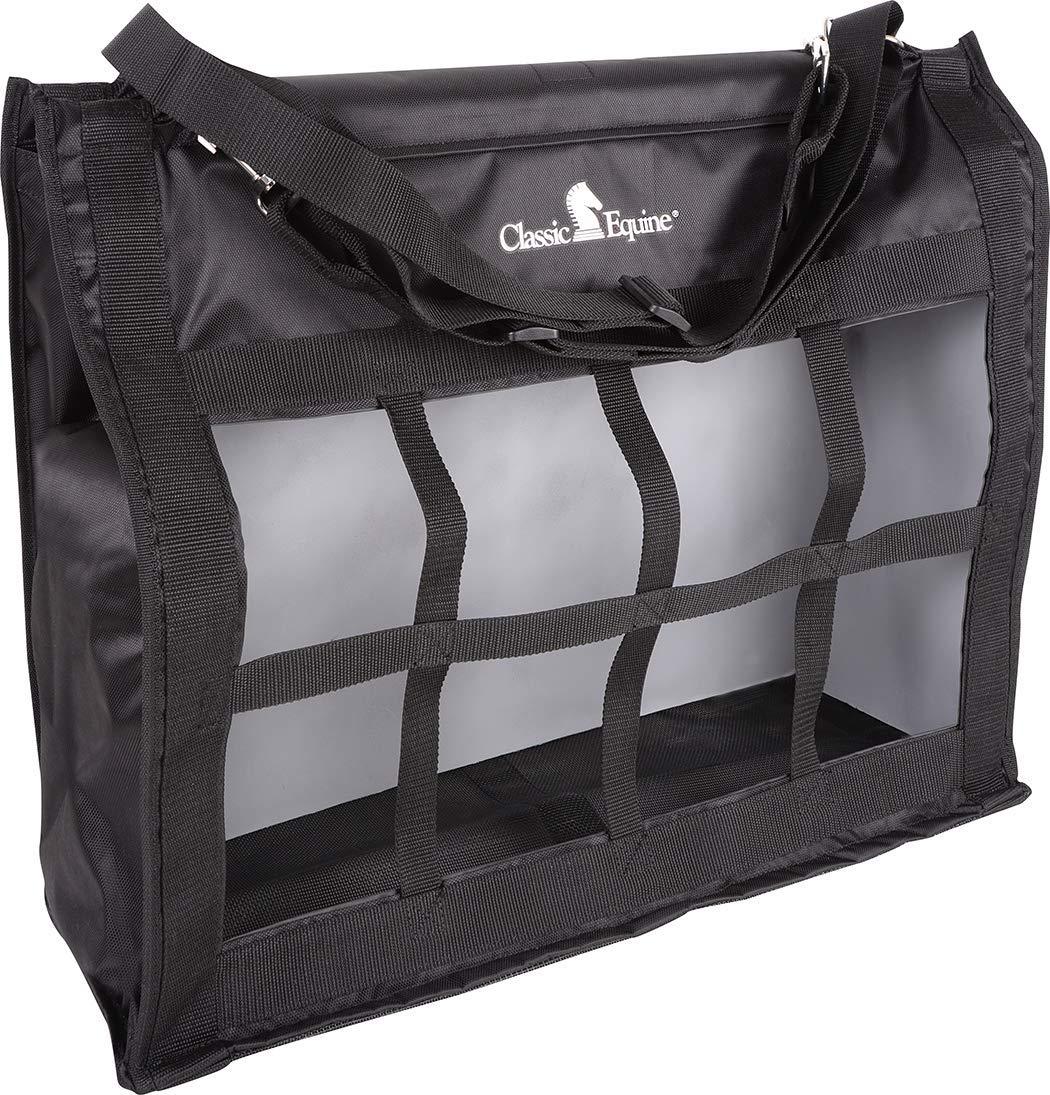 Classic Equine Topload Hay Bag, Black