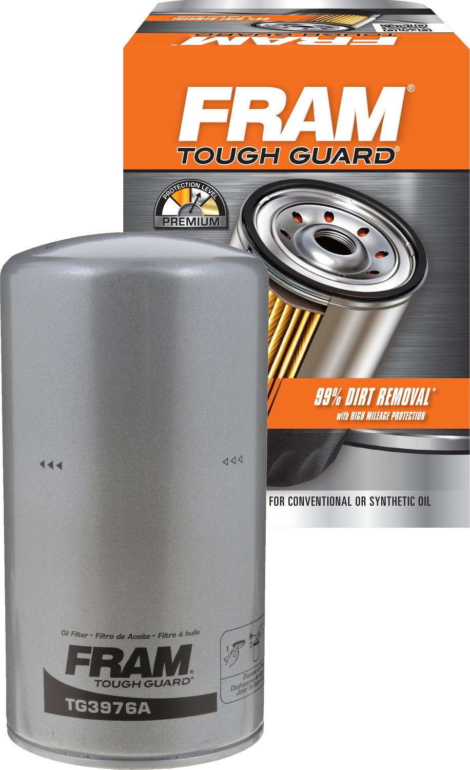 FRAM TG3976A Tough Guard Spin-on Oil Filter