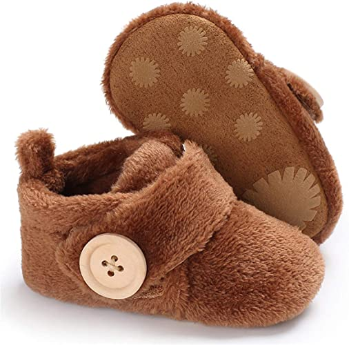 Beeliss Baby Loafers Soft Rubber Sole Crib Shoes for Toddlers