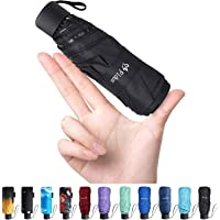 Fidus Mini Compact Sun&Rain Travel Umbrella for Men Women