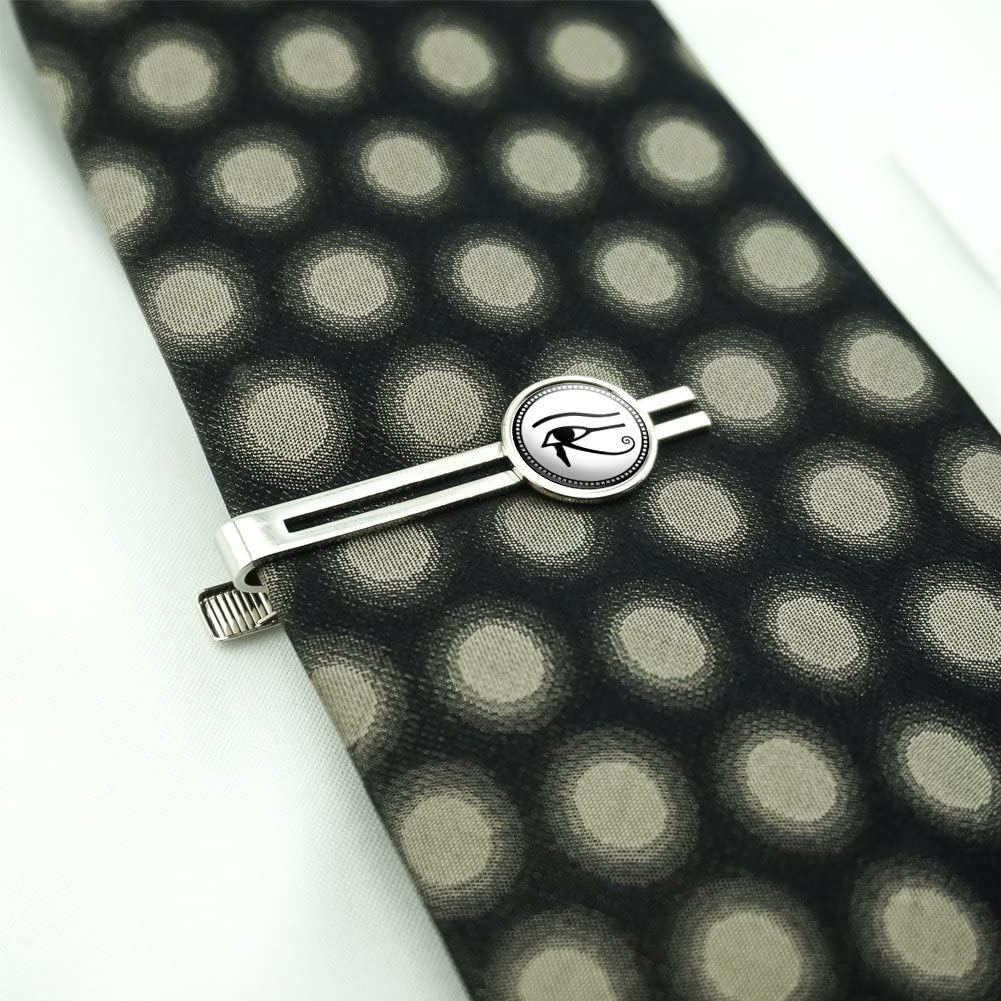 Made On Terra Eye of Horus Mens Tie Clip Tack Bar