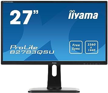 d1f3151cbc38cd iiyama B2783QSU-B1 Ecran PC LCD 27