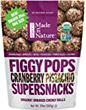 Made in Nature Figgy Pops Organic Cranberry Pistachio, 20-ounce