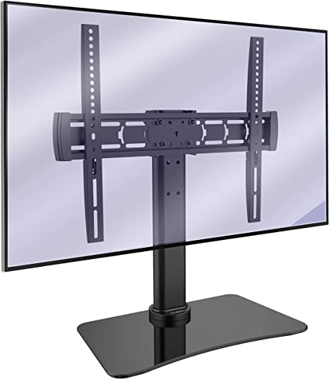 Invision Tv Stand Tilt And Swivel Table Top Pedestal Amazon Co Uk Electronics