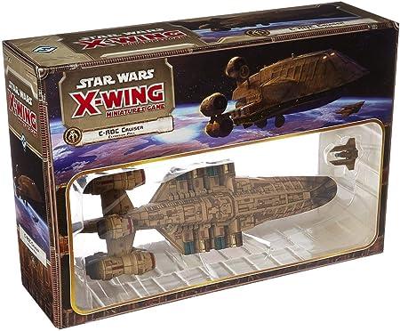 Fantasy Flight Games Star Wars X-Wing Juego de miniaturas: C-ROC Cruiser Pack de expansión: Amazon.es: Juguetes y juegos
