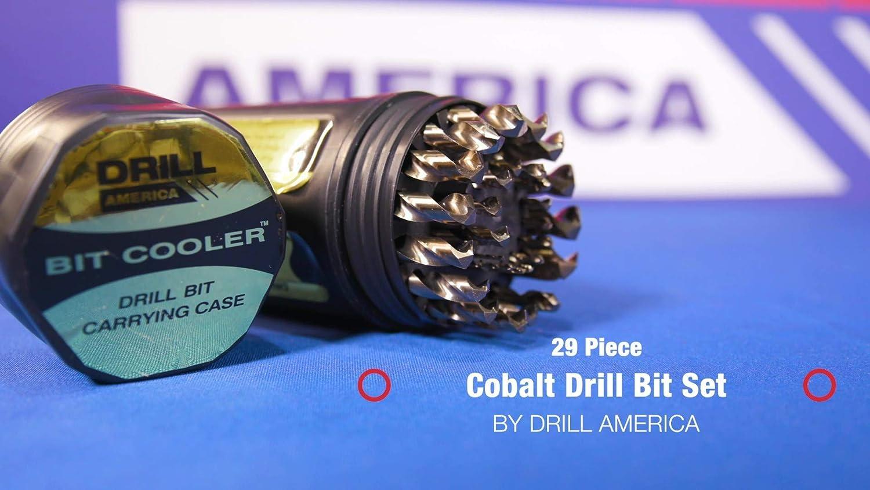 Drill America - DWD29J-CO-PC 29 Piece M35 Cobalt Drill Bit Set