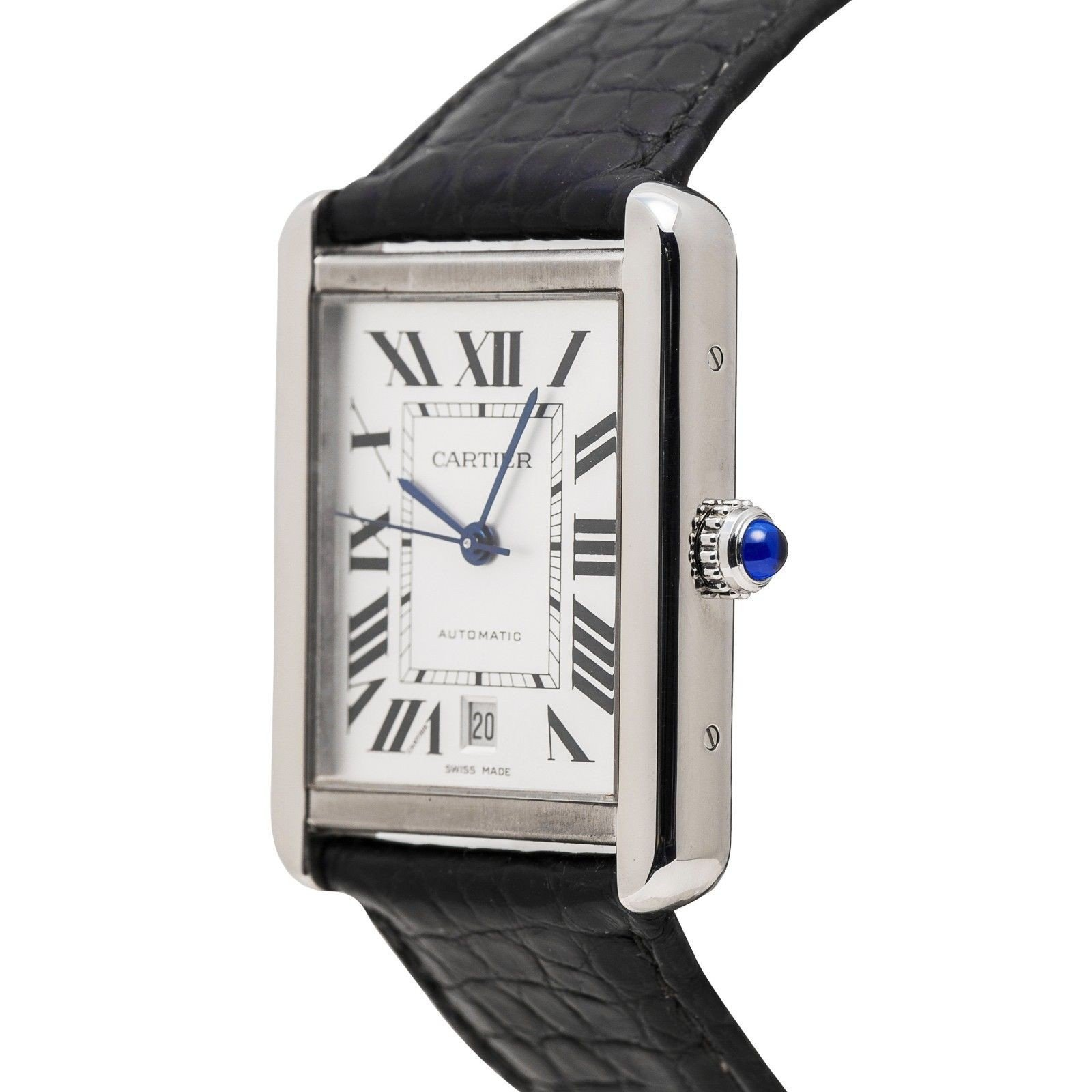 Cartier Tank XL automatic-self-wind mens Watch 3515 (Certified Pre-owned) by Cartier (Image #5)
