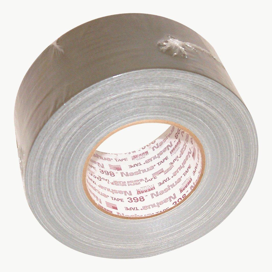 Nashua 398 Polyethylene Coated Cloth Professional Grade Duct Tape Silver 60 yds Length x 4 Width