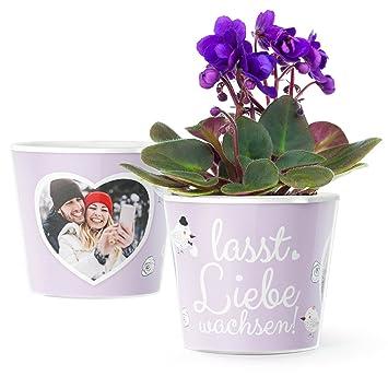 Hochzeitsgeschenk Blumentopf O16cm Geschenk Fur Das Paar Zur