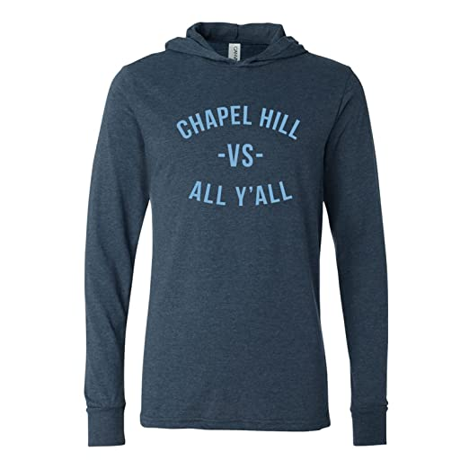80c5f14a4 UGP Campus Apparel Chapel Hill Vs All Y'all Hooded Long Sleeve T Shirt -