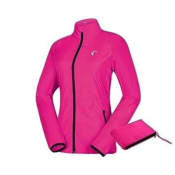 23010f141665 J. Carp Women's Packable Windbreaker Jacket, Lightweight and Water ...