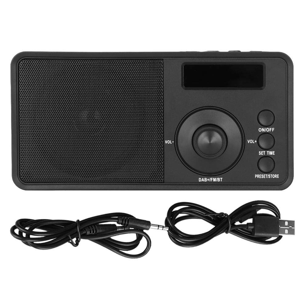 BTIHCEUOT Portable DAB+ / DAB Radio with Bluetooth Wireless Speaker FM Digital Display for Outdoor by BTIHCEUOT