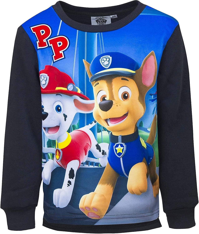 Nickelodeon Paw Patrol PP Sudadera para Ni/ños