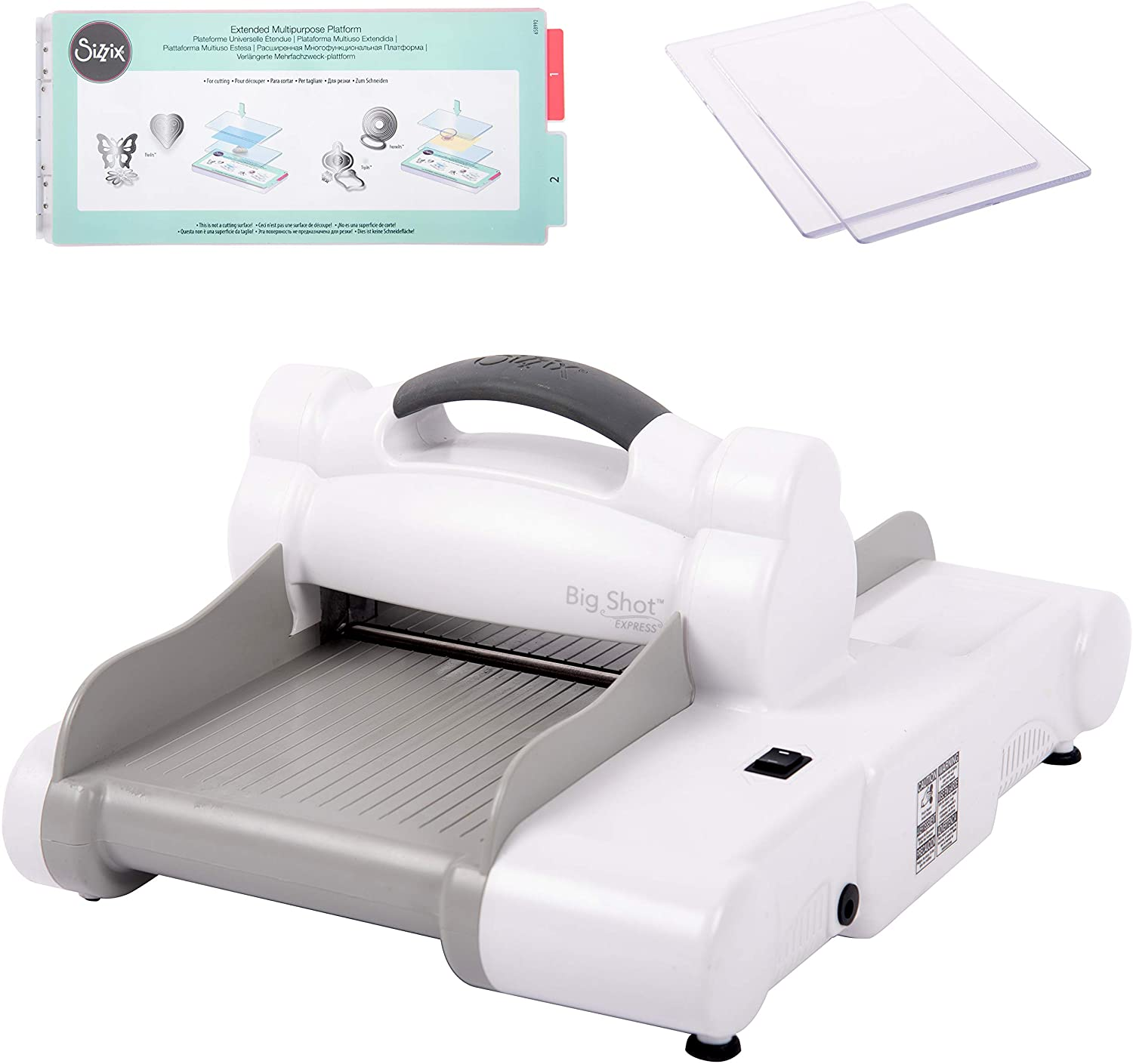 Sizzix Big Shot Cutting Embossing Machine Scrapbook Die Up Dies Cut Roller NEW