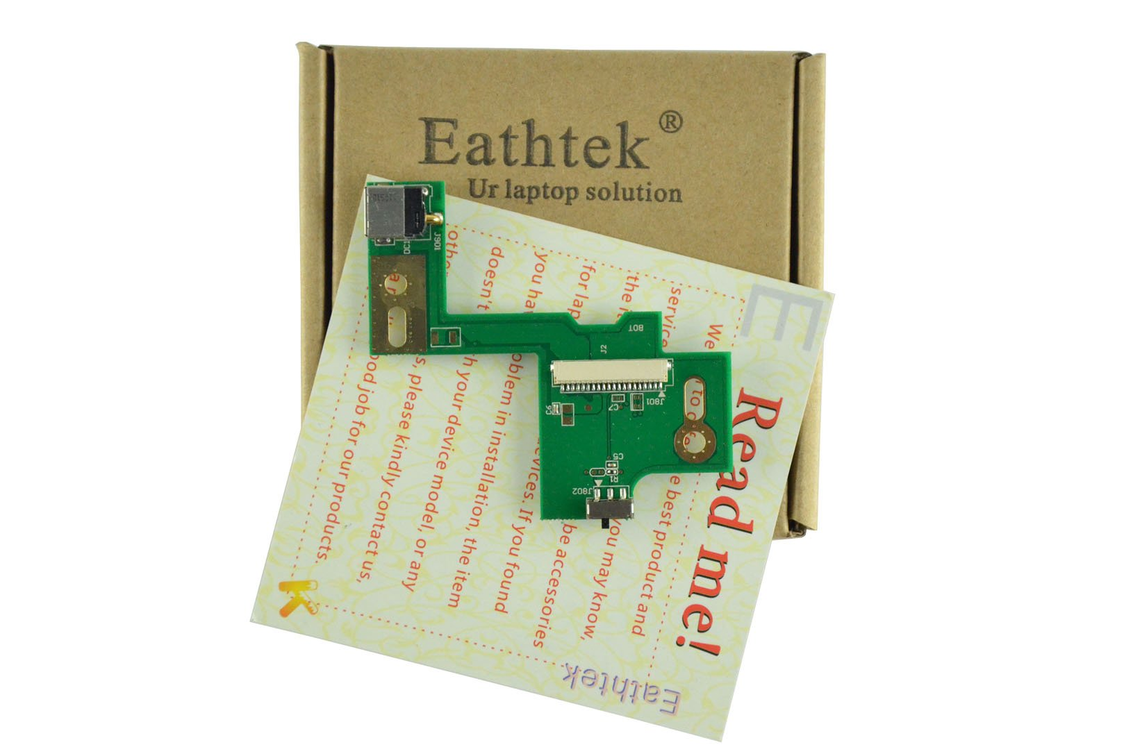 Eathtek Replacement DC IN Power Jack Board for ASUS N53 N53JF N53JQ N53SV N53SN series