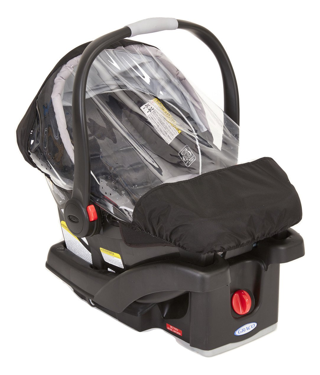 Sashas Rain and Wind Cover for Graco Snugride Click Connect 30 & 35 Infant Car Seat by Sasha Kiddie Products