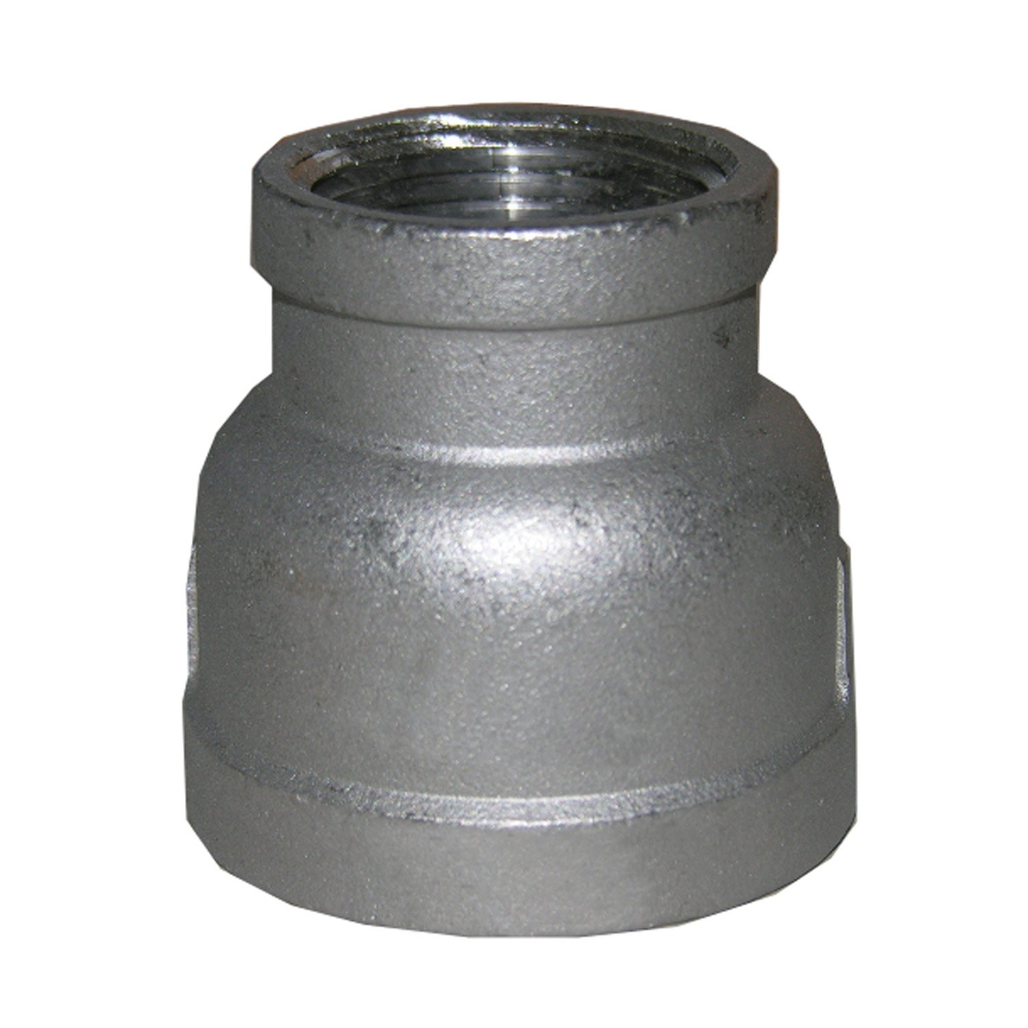 LASCO 32-2810 Stainless Steel Bell Reducer with 1 1/4-Inch Female Pipe Thread and 1-Inch Female Pipe Thread