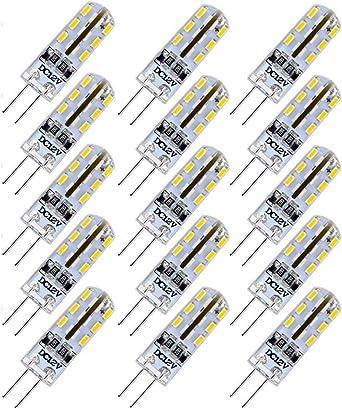 15er Pack G4 Led Lampen 1 5w Led Birnen Aquivalent 10w