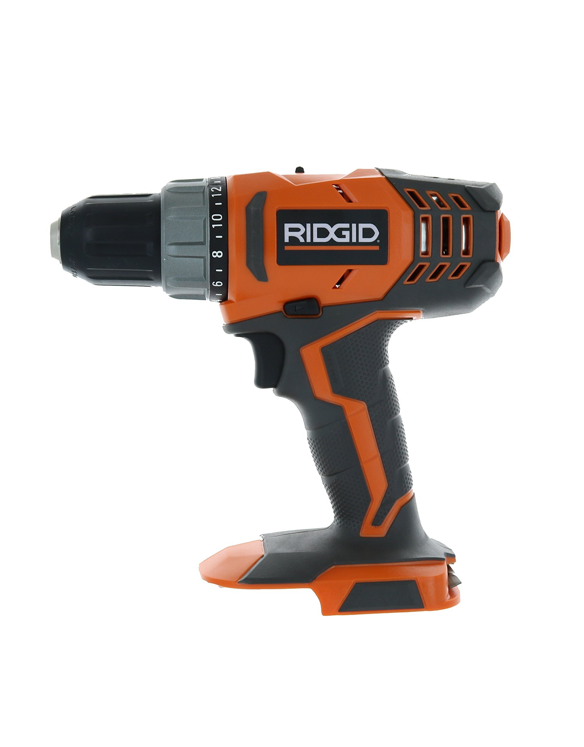 RIDGID R860052 18-Volt Lithium-Ion 1/2 in. Cordless Compact Drill/Driver (Bare Tool Only - Battery and Charger Not Included) (Certified Refurbished)