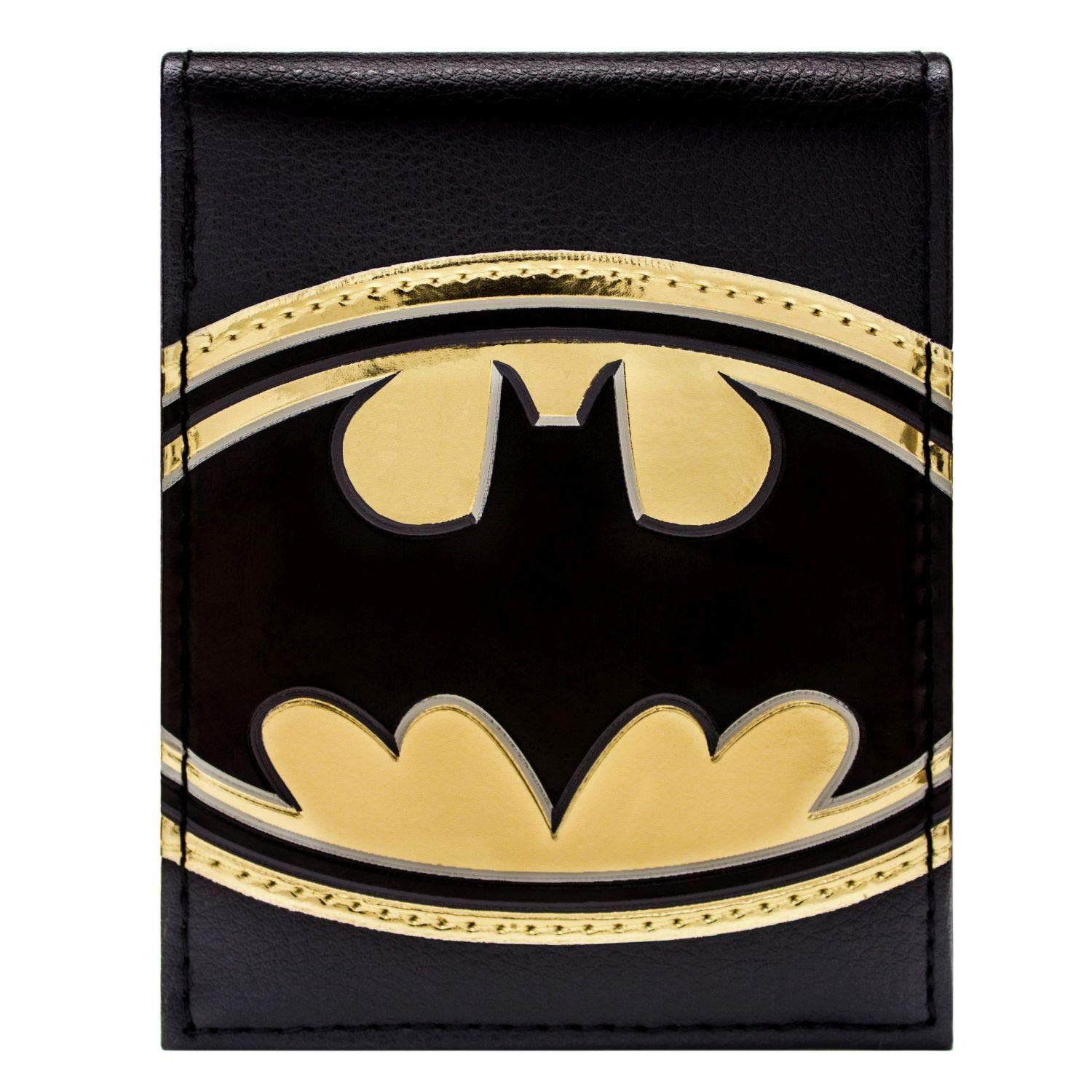 DC Comics Batman Or Brillant Symbole Noir Portefeuille 28352