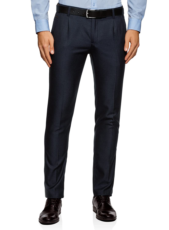 oodji Ultra Hombre Pantalones B/ásicos de Algod/ón