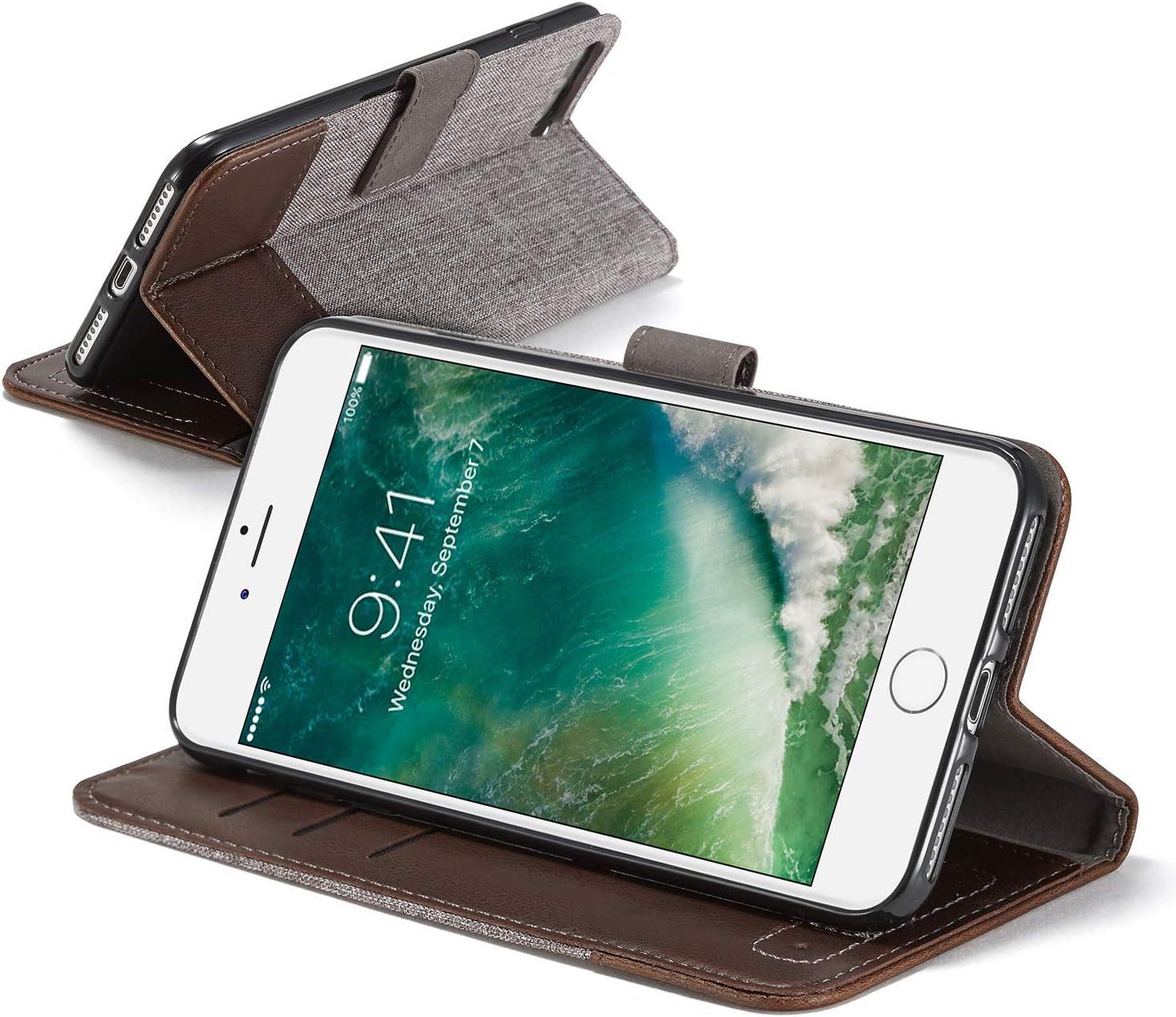 Sweau Compatible avec Galaxy A3 2017 Coque,Etui Galaxy A3 2017 Housse en Cuir de Protection Retro Denim PU Cuir Magn/étique Flip Case Prot/éger pour Galaxy A3 2017 Housse Etui Cuir Portefeuille Case