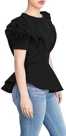 Size 12-14 by Kustom Kit NEW Ladies unusual deep neck black top long sleeve