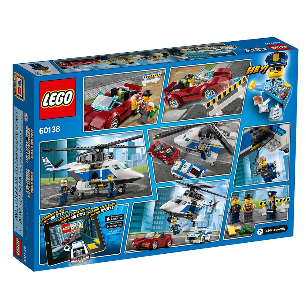 LEGO City Police High-Speed Chase 60138 Building Toy by LEGO (Image #6)