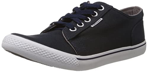 f5644aecbb4 Converse Men s Navy Blue Canvas Sneakers - 3 UK (111510)  Buy Online ...