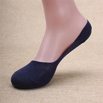 WY-sock Calcetines invisibles para hombres calcetines de boca poco profunda transpirables absorbentes de sudor