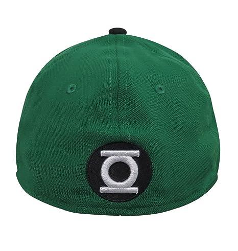 48bc13e44f4 Green Lantern Hal Jordan Symbol 39Thirty Fitted Hat at Amazon Men s  Clothing store