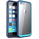 iPhone 6 Case, SUPCASE Apple iPhone 6 Case 4.7 inch [Unicorn Beetle Series] Premium Hybrid Protective Bumper Case Cover for iPhone 6 (Clear/Blue/Blue)