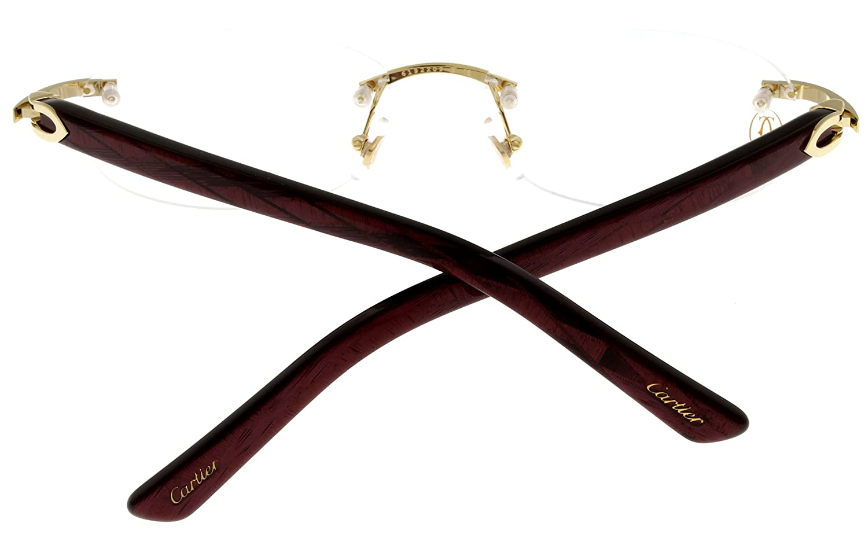 Cartier C Decor Prescripción gafas marco Mujer bermellón ...
