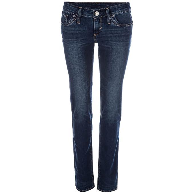 Jeans levi S Revel Low Waist Regular Azul Delave Mujer azul ...