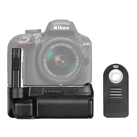 Neewer - Empuñadura de batería para cámara réflex Digital Nikon ...