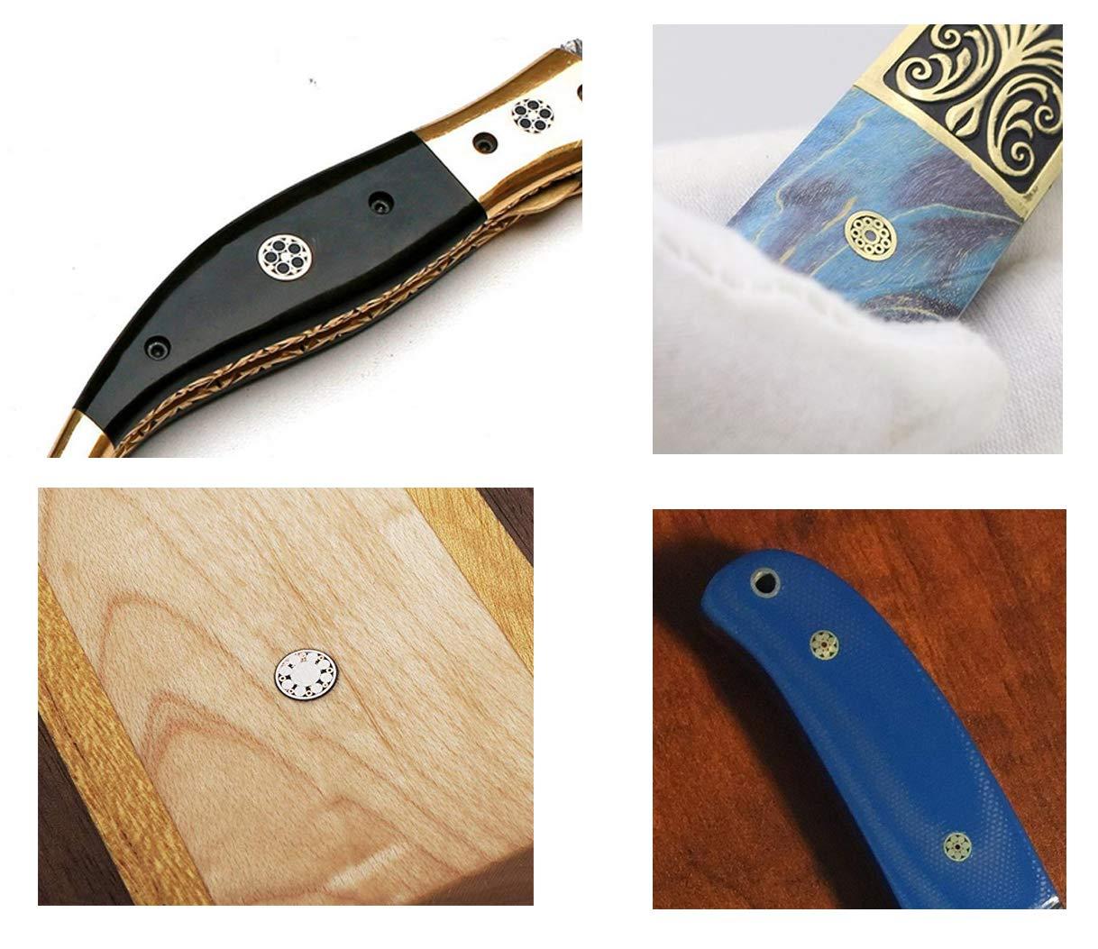 Cuchillo Cuchillas de mosaico Cuchillo Mango Cuchillos ...