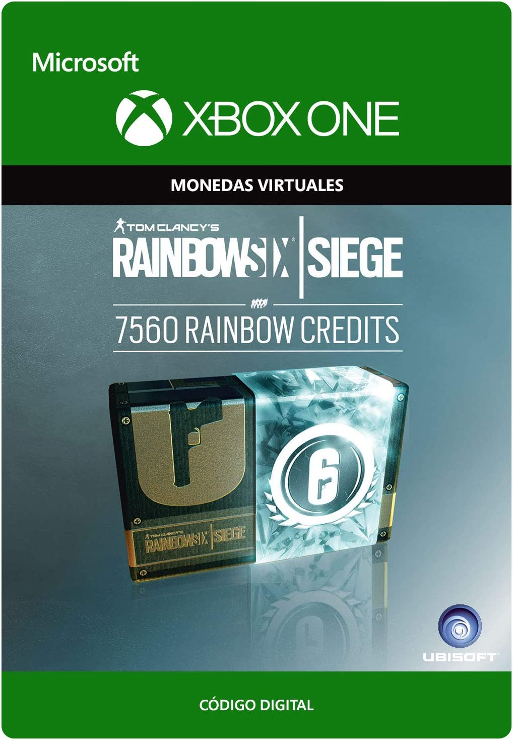 Tom Clancys Rainbow Six Siege Currency pack 7560 Rainbow credits ...
