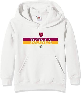 FELPA CON CAPPUCCIO BIMBO AS ROMA