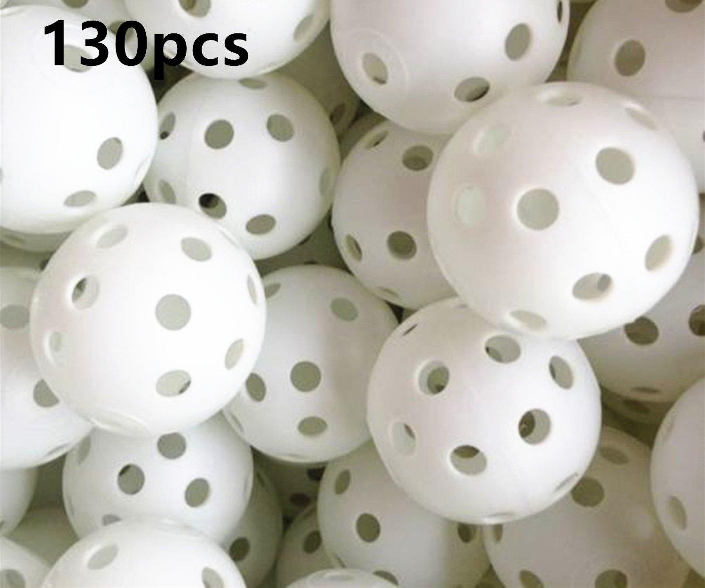 Air Flow Golf White Balls A99 Golf 130pcs