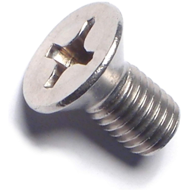 1//4-28 x 1//2 Piece-12 Hard-to-Find Fastener 014973194215 Phillips Flat Machine Screws