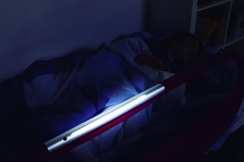 amazoncom  babyhome side light bed rail  grey  baby -