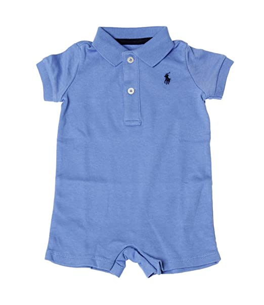 huge discount fd1d4 a0c2b Ralph Lauren Childrenswear Tutina Polo in Interlock di ...