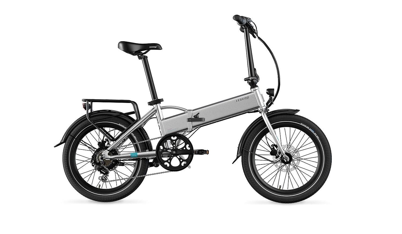 Legend eBikes Monza 36V10.4Ah Bicicleta Eléctrica Plegable, Unisex Adulto, Silver, Talla Única: Amazon.es: Deportes y aire libre