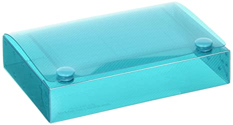 C-LINE Polypropylene Index Card Case for 100 3 x 5 Inch Cards, Assorted  (CLI58335) one unit per order