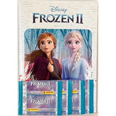 Frozen II Sticker Album and 4 Packs of Album Stickers Bundle: Office Products