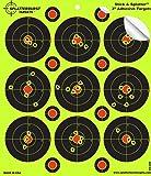 """Splatterburst Targets - 3 inch """"Stick & Splatter"""" Reactive Self Adhesive Shooting Targets - Gun - Rifle - Pistol - AirSoft - BB Gun - Pellet Gun - Air Rifle"""