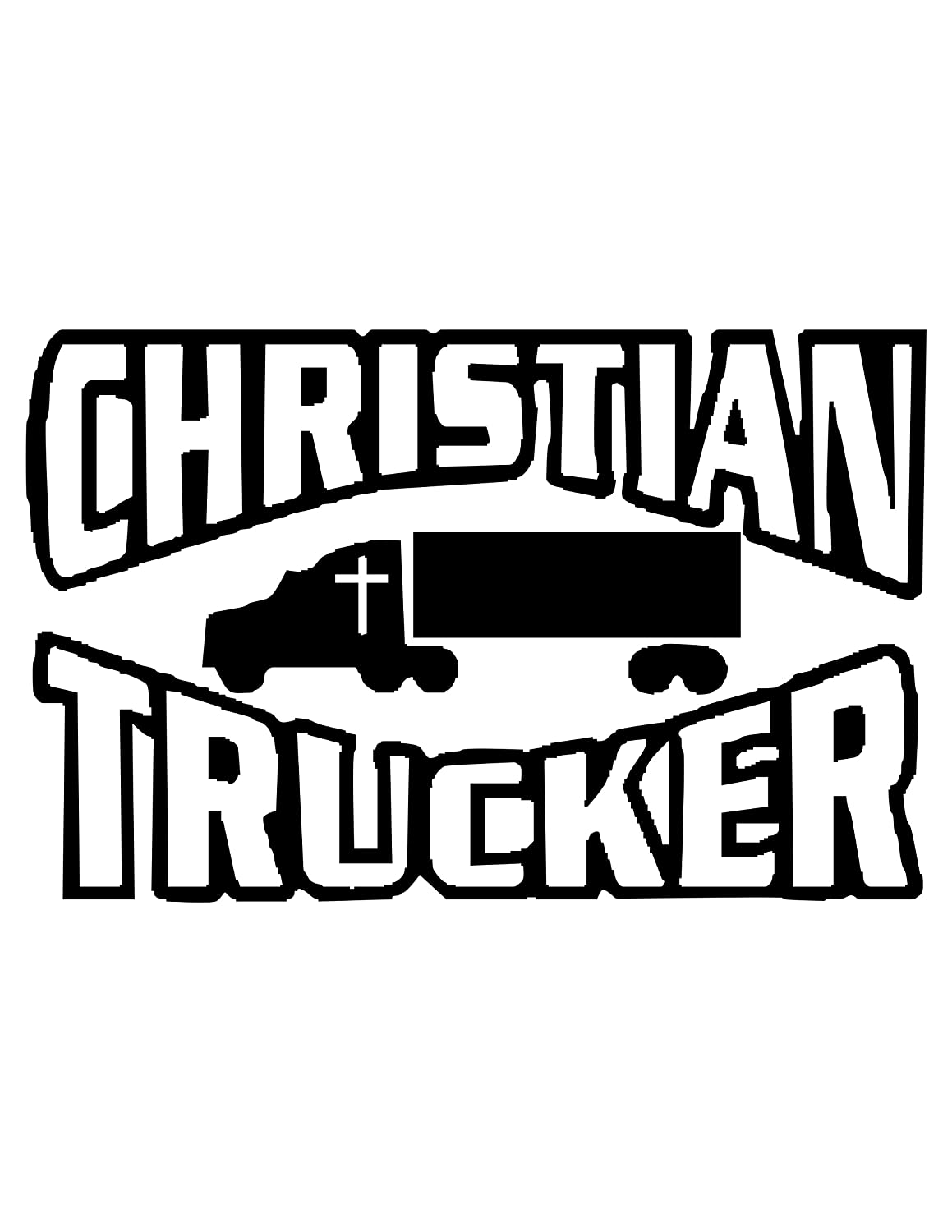 Christian Trucker (Specify Color Otherwise We Ship White)